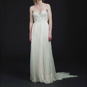 Sarah Seven Carmine Wedding Gown